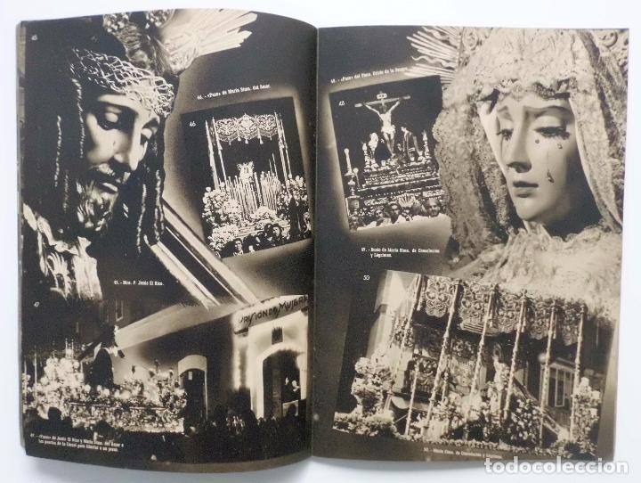 Carteles de Semana Santa: DOCUMENTO GRAFICO EDITADO POR LA AGRUPACION DE COFRADIAS SEMANA SANTA DE MALAGA AÑO 1952 - Foto 7 - 103231507