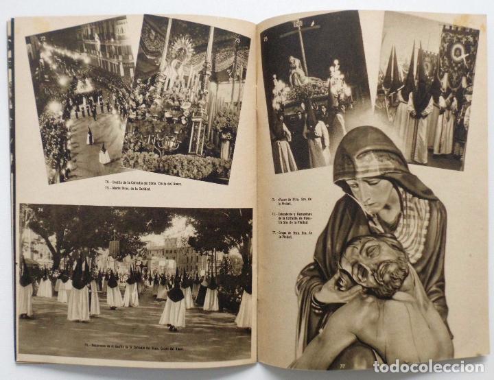 Carteles de Semana Santa: DOCUMENTO GRAFICO EDITADO POR LA AGRUPACION DE COFRADIAS SEMANA SANTA DE MALAGA AÑO 1952 - Foto 11 - 103231507
