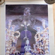Carteles de Semana Santa: SEMANA SANTA SEVILLA, CARTEL TERTULIA SEVILLA MARIANA,1991, 48X70 CMS. Lote 103753259