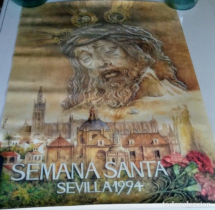 CARTEL SEMANA SANTA 1994. SEVILLA. GARCÍA GÓMEZ (Coleccionismo - Carteles Gran Formato - Carteles Semana Santa)