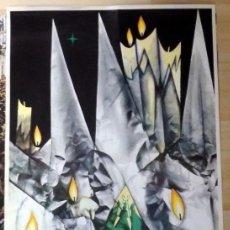 Carteles de Semana Santa: CARTEL SEMANA SANTA DE SEVILLA, 1978, 48X68 CMS. Lote 107665839