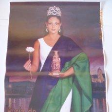 Carteles de Semana Santa: CARTEL FERIA DE MALAGA 2003, PINTURA DE A. MONTIEL, MEDIDAS, 48X70, NUEVO.. Lote 107709167