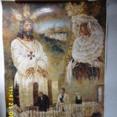 Carteles de Semana Santa: SEMANA SANTA DE MALAGA , EL CAUTIVO, AÑO 2001.. Lote 107737327