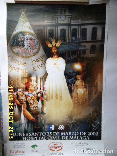 SEMANA SANTA DE MALAGA, EL CAUTIVO ,AÑO 2'002 (Coleccionismo - Carteles Gran Formato - Carteles Semana Santa)