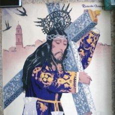 Carteles de Semana Santa: CARTEL SEMANA SANTA , MONTORO , CORDOBA , 1961 , RICARDO ANAYA , ORIGINAL ,C2. Lote 108820927