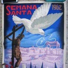 Carteles de Semana Santa: CARTEL SEMANA SANTA , AVILA , 1962 , RICARDO ANAYA , ORIGINAL ,C2. Lote 108821687