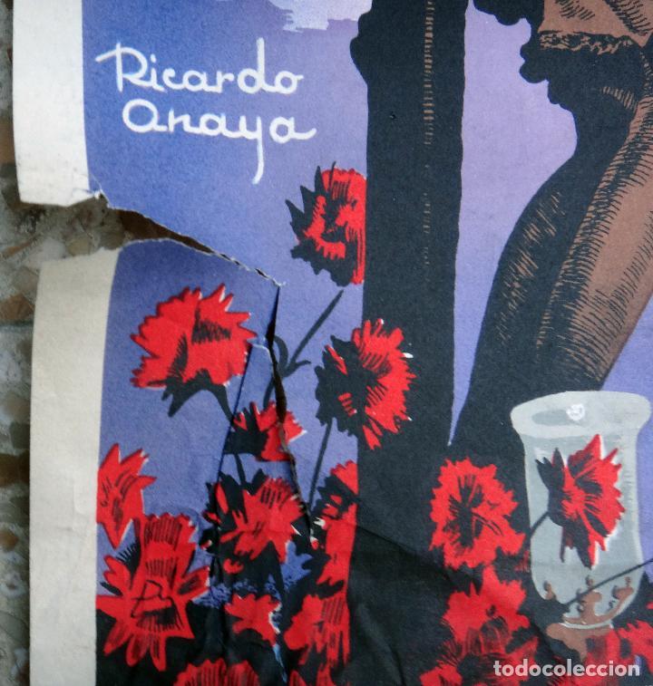 Carteles de Semana Santa: CARTEL SEMANA SANTA , AVILA , 1962 , RICARDO ANAYA , ORIGINAL ,C2 - Foto 2 - 108821687