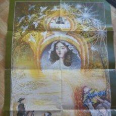 Carteles de Semana Santa: CARTEL ROMERIA VIRGEN DE MONTEMAYOR ( MOGUER, HUELVA ) 1999 - .... 69 X 99 CM. Lote 109468967