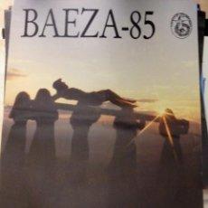 Carteles de Semana Santa: BAEZA, JAEN, 1985, CARTEL ORIGINAL DE LA SEMANA SANTA DE BAEZA,48X70 CMS. Lote 109472287