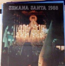 Carteles de Semana Santa: CARTEL SEMANA SANTA ISLA CRISTINA 1988 48X68 CM. Lote 109480083