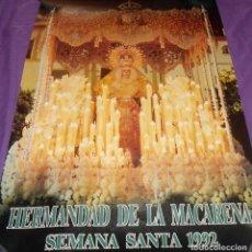 Carteles de Semana Santa: PÓSTER / CARTEL HERMANDAD DE LA MACARENA. SEMANA SANTA 1992. Lote 132893109