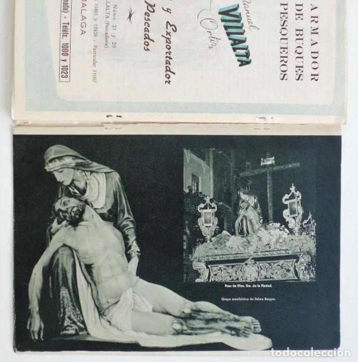 Carteles de Semana Santa: REVISTA LA SAETA AÑO 1959 SEMANA SANTA DE MALAGA - Foto 2 - 110129567
