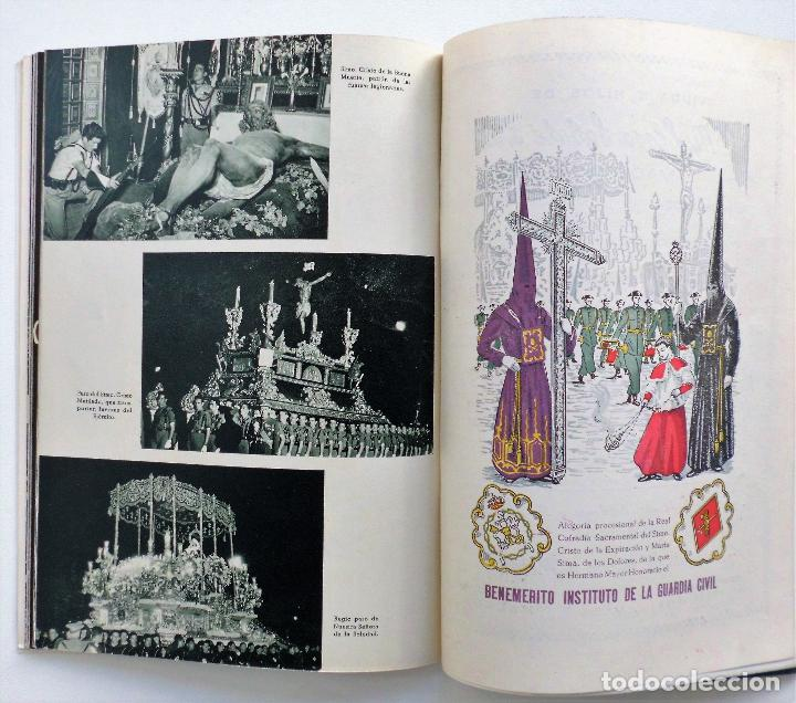 Carteles de Semana Santa: REVISTA LA SAETA AÑO 1959 SEMANA SANTA DE MALAGA - Foto 3 - 110129567