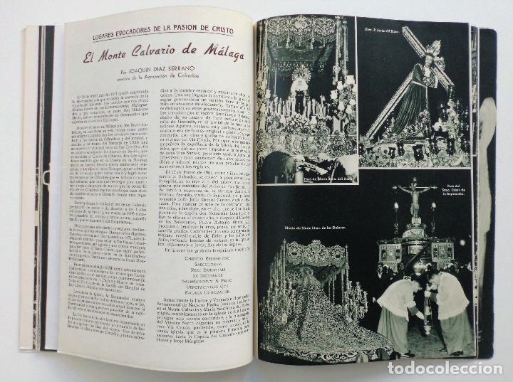 Carteles de Semana Santa: REVISTA LA SAETA AÑO 1959 SEMANA SANTA DE MALAGA - Foto 4 - 110129567