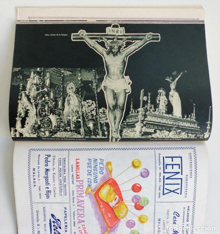 Carteles de Semana Santa: REVISTA LA SAETA AÑO 1959 SEMANA SANTA DE MALAGA - Foto 5 - 110129567