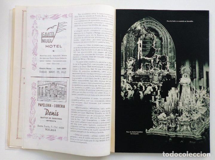Carteles de Semana Santa: REVISTA LA SAETA AÑO 1959 SEMANA SANTA DE MALAGA - Foto 10 - 110129567