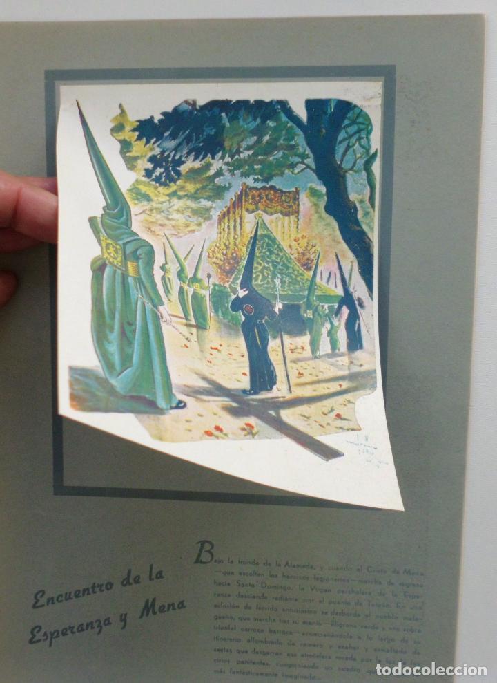 Carteles de Semana Santa: REVISTA LA SAETA AÑO 1951 SEMANA SANTA DE MALAGA - Foto 2 - 110131211