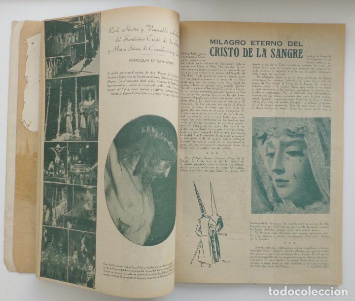 Carteles de Semana Santa: REVISTA LA SAETA AÑO 1950 SEMANA SANTA DE MALAGA - Foto 3 - 110131775