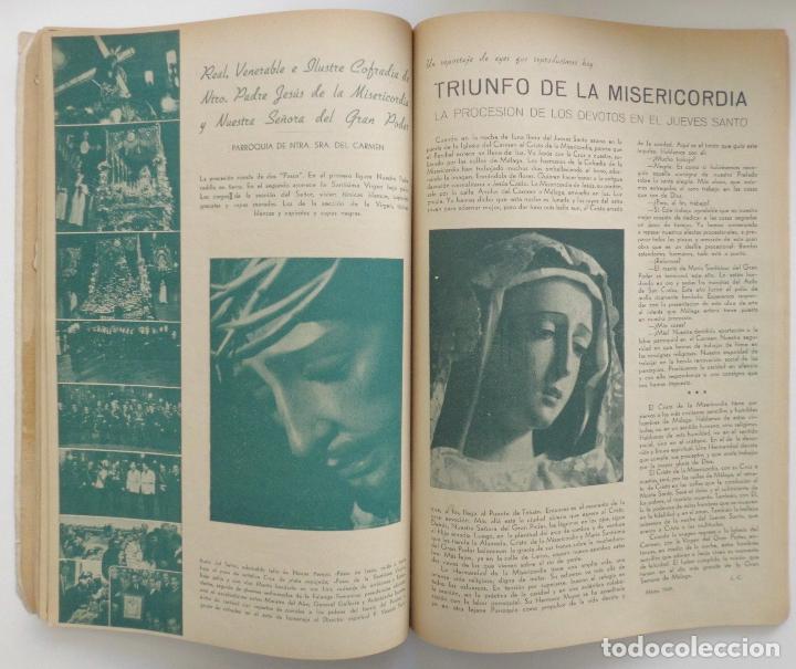 Carteles de Semana Santa: REVISTA LA SAETA AÑO 1950 SEMANA SANTA DE MALAGA - Foto 4 - 110131775