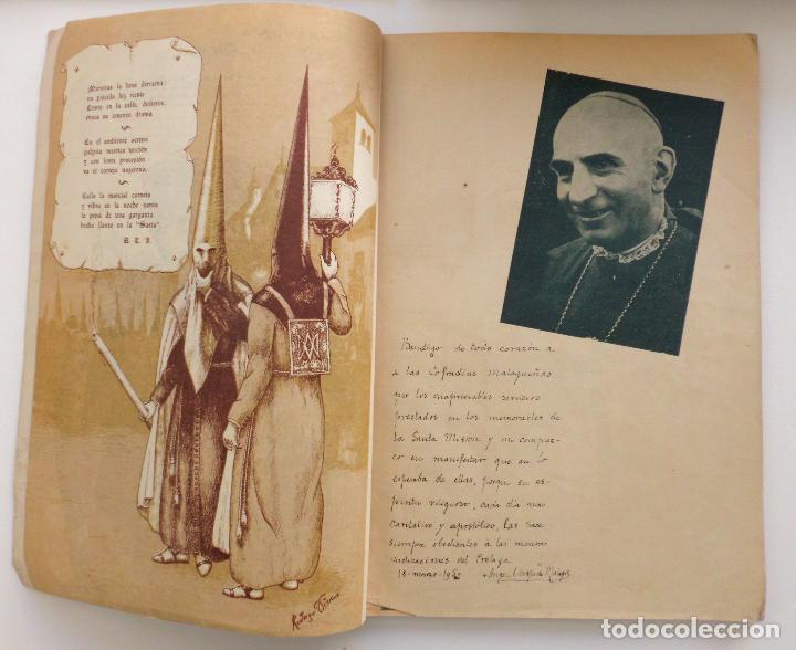 Carteles de Semana Santa: REVISTA LA SAETA AÑO 1950 SEMANA SANTA DE MALAGA - Foto 8 - 110131775