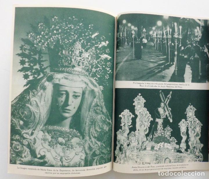 Carteles de Semana Santa: REVISTA LA SAETA AÑO 1964 SEMANA SANTA DE MALAGA - Foto 2 - 110132251