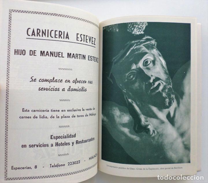Carteles de Semana Santa: REVISTA LA SAETA AÑO 1964 SEMANA SANTA DE MALAGA - Foto 4 - 110132251