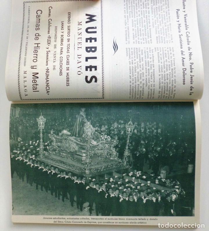 Carteles de Semana Santa: REVISTA LA SAETA AÑO 1964 SEMANA SANTA DE MALAGA - Foto 8 - 110132251