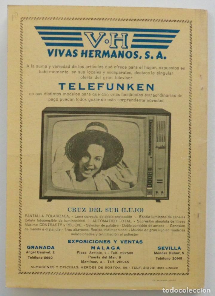 Carteles de Semana Santa: REVISTA LA SAETA AÑO 1964 SEMANA SANTA DE MALAGA - Foto 11 - 110132251
