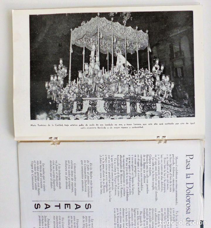 Carteles de Semana Santa: REVISTA LA SAETA AÑO 1958 SEMANA SANTA DE MALAGA - Foto 3 - 110133355