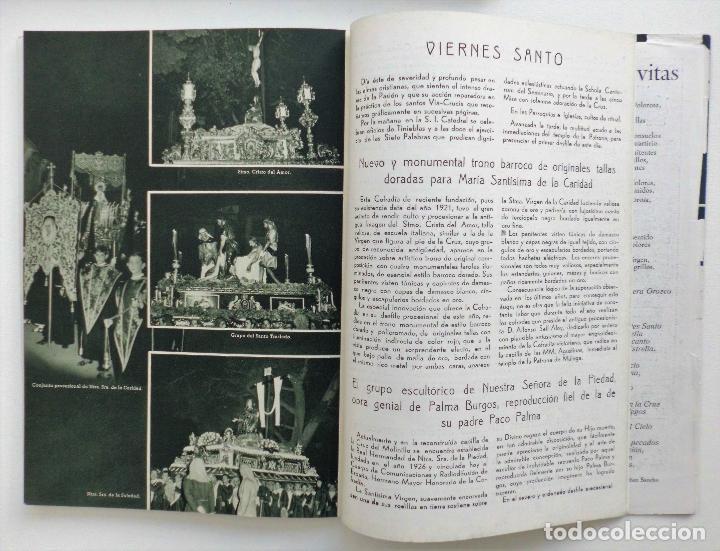 Carteles de Semana Santa: REVISTA LA SAETA AÑO 1958 SEMANA SANTA DE MALAGA - Foto 4 - 110133355