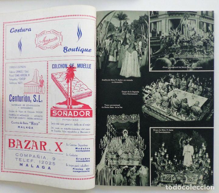 Carteles de Semana Santa: REVISTA LA SAETA AÑO 1958 SEMANA SANTA DE MALAGA - Foto 11 - 110133355