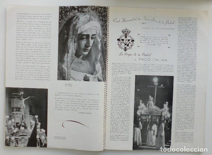 Carteles de Semana Santa: REVISTA LA SAETA AÑO 1949 SEMANA SANTA DE MALAGA - Foto 3 - 110135031