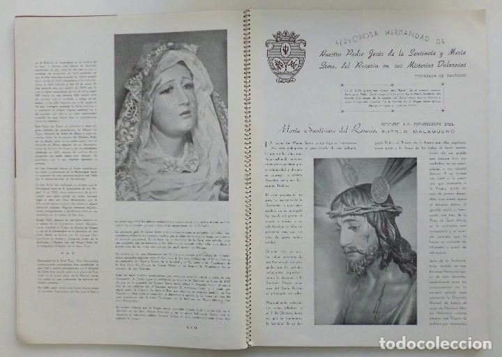 Carteles de Semana Santa: REVISTA LA SAETA AÑO 1949 SEMANA SANTA DE MALAGA - Foto 6 - 110135031