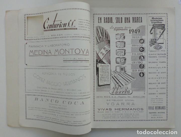 Carteles de Semana Santa: REVISTA LA SAETA AÑO 1949 SEMANA SANTA DE MALAGA - Foto 10 - 110135031