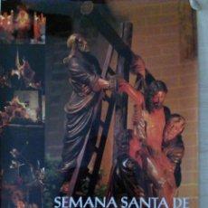 Carteles de Semana Santa: CARTEL SEMANA SANTA BADAJOZ. 49 X 68 CMS (GRANDE). Lote 111215275