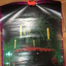 Carteles de Semana Santa: CARTEL SEMANA SANTA DE JEREZ AÑO 1986 - CRISTO DE LA BUENA MUERTE. Lote 111776535