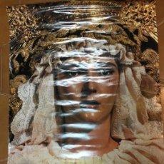 Carteles de Semana Santa: CARTEL CAJA SAN FERNANDO - SEMANA SANTA DE JEREZ AÑO 1995 - VIRGEN DE LA ESTRELLA - GRAN TAMAÑO. Lote 111776815