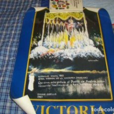 Carteles de Semana Santa: CARTEL VICTORIA 1953 - 2003 HUELVA. Lote 113288079