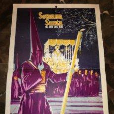 Carteles de Semana Santa: CARTEL DE SEMANA SANTA MÁLAGA 1969. Lote 114590502