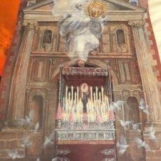 Carteles de Semana Santa: ANTIGUO CARTEL CORONACIÓN CANÓNICA NUESTRA SEÑORA DEL VALLE SEMANA SANTA SEVILLA . Lote 114658723
