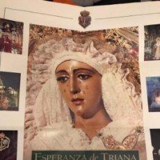 Carteles de Semana Santa: CARTEL ESPERANZA DE TRIANA SEMANA SANTA SEVILLA . Lote 114659111