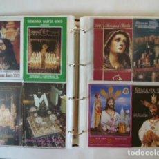 Carteles de Semana Santa: MALAGA, ALBUN ITINERARIOS DE SEMANA SANTA, 29, NUEVOS,. Lote 115670699