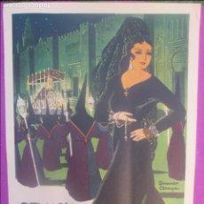 Carteles de Semana Santa: CARTEL SEMANA SANTA 1957, CORDOBA, RICARDO ANAYA, SS10. Lote 116880759