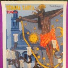 Carteles de Semana Santa: CARTEL SEMANA SANTA 1964, CORDOBA, AGRUPACION DE COFRADIAS, RICARDO ANAYA, . Lote 118561779