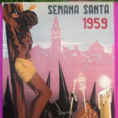 Carteles de Semana Santa: CARTEL SEMANA SANTA 1959, CORDOBA, RICARDO ANAYA, . Lote 116881627