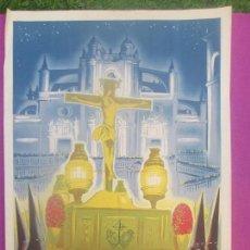 Carteles de Semana Santa: CARTEL SEMANA SANTA, JEREZ DE LA FRONTERA, AÑOS 50, SS2. Lote 116882555