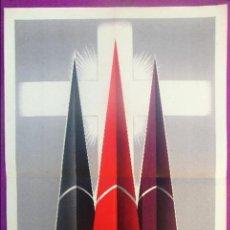 Carteles de Semana Santa: CARTEL SEMANA SANTA 1959, MURCIA, LAORDEY, SS3. Lote 116882911