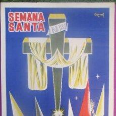 Carteles de Semana Santa: CARTEL SEMANA SANTA 1960, MERIDA, CARVAI, SS18. Lote 116883147