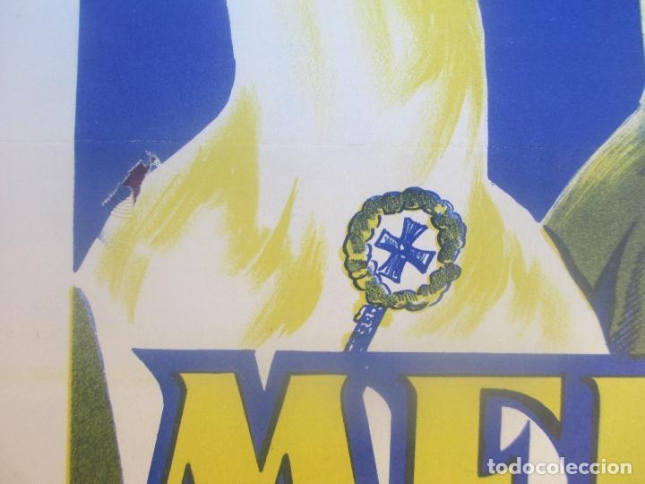 Carteles de Semana Santa: CARTEL SEMANA SANTA 1960, MERIDA, CARVAI, SS18 - Foto 3 - 116883147