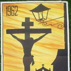 Carteles de Semana Santa: CARTEL SEMANA SANTA 1962, CACEREÑA, CACERES, L.BREÑA, SS6. Lote 116883543